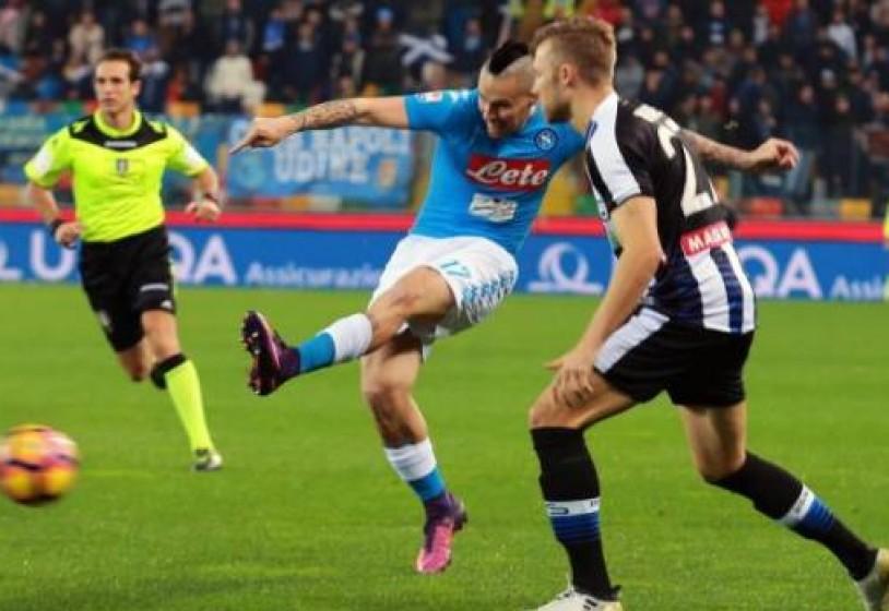 Hamsik: «Contro l'Udinese vittoria meritata. Mercoledì vogliamo i tre punti»