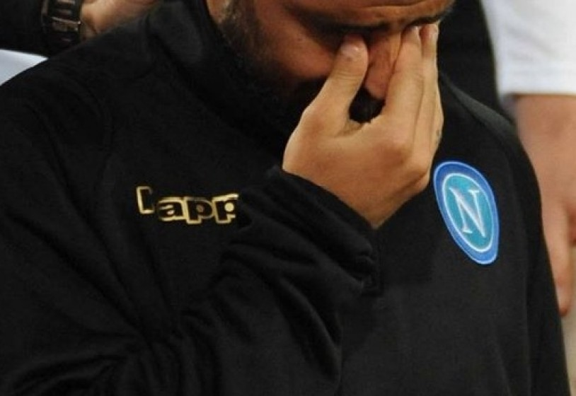 Napoli, momento durissimo per Insigne: l'azzurro è in lacrime dopo il cambio