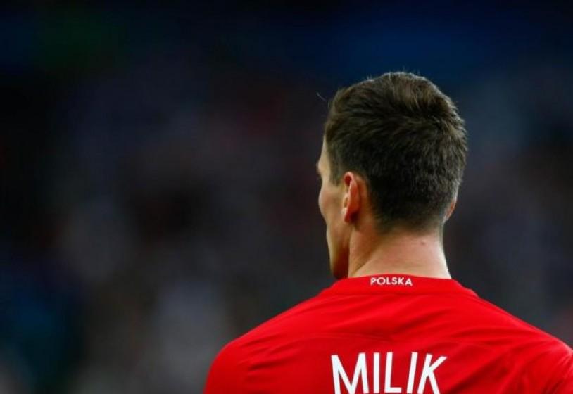 Milik si infortuna durante Polonia-Danimarca