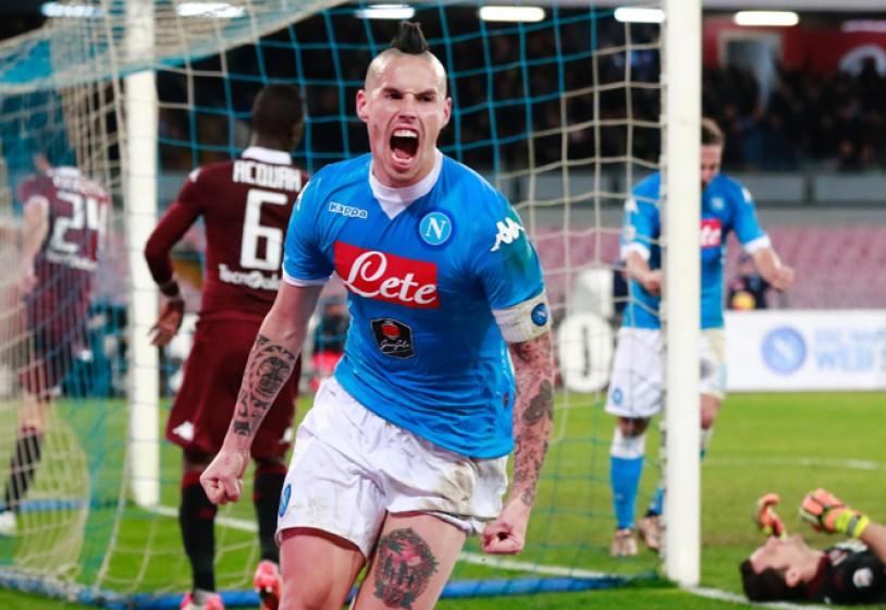 Futuro a Napoli, Hamsik smentisce il suo agente