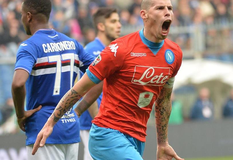 Sampdoria-Napoli 2-4: Higuain ancora a segno