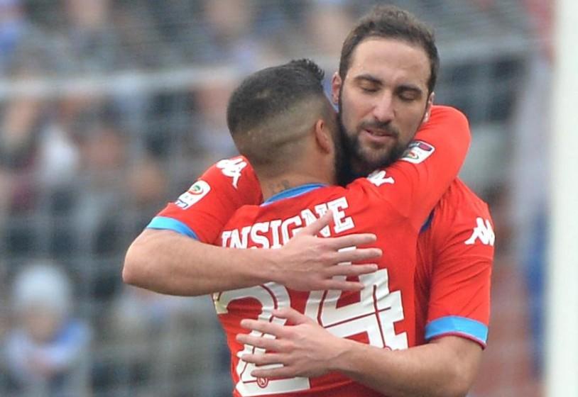 Napoli. Higuain-Insigne, i gemelli del gol più prolifici della storia azzurra