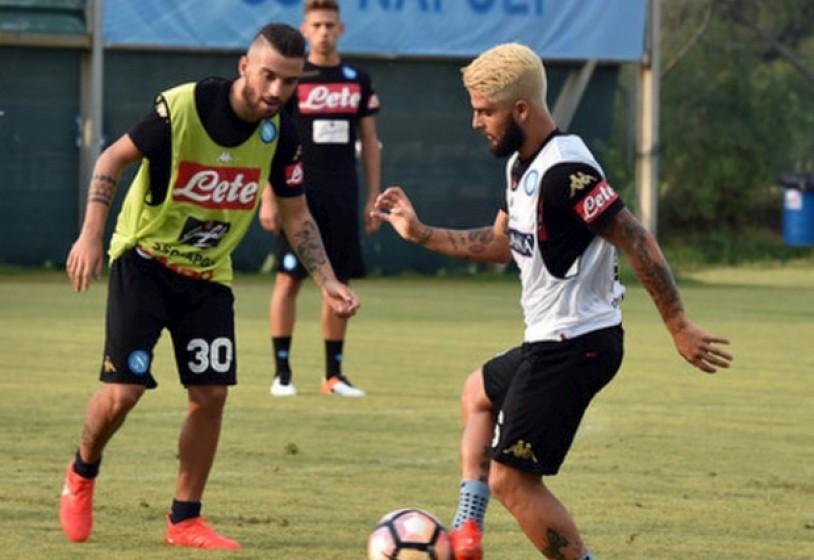 Napoli: Insigne, look alla Messi. Primo giorno di lavoro per Maksimovic