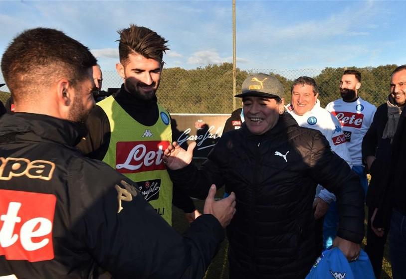Insigne: «Ecco cosa ci ha detto Maradona negli spogliatoi»