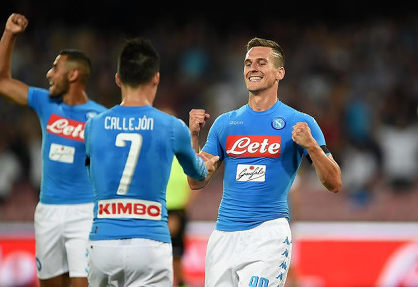 Napoli-Milan 4-2, Milik e Callejon decidono la gara