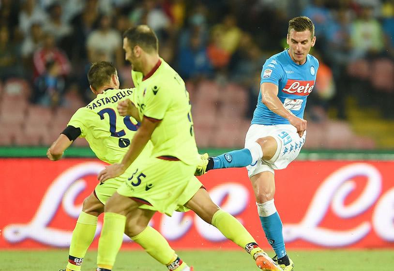 «Napoli, Milik tornerà più forte di prima»
